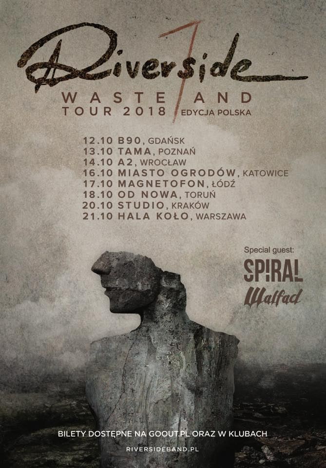 Wasteland Tour 2018 - supporty