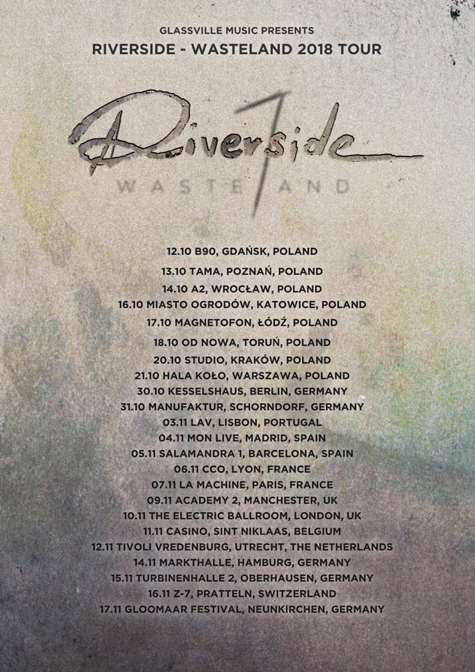 Wasteland 2018 Tour