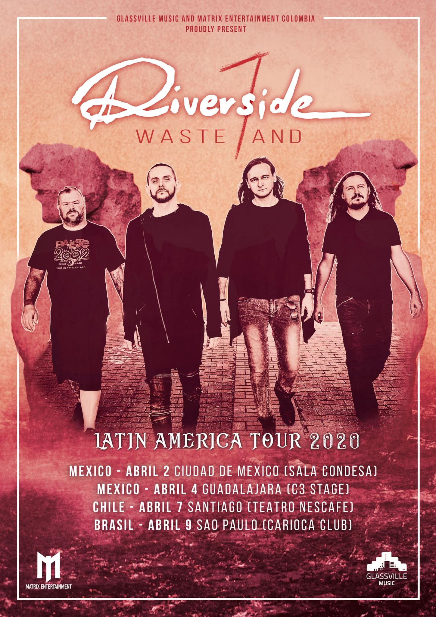 Wasteland Latin America Tour 2020