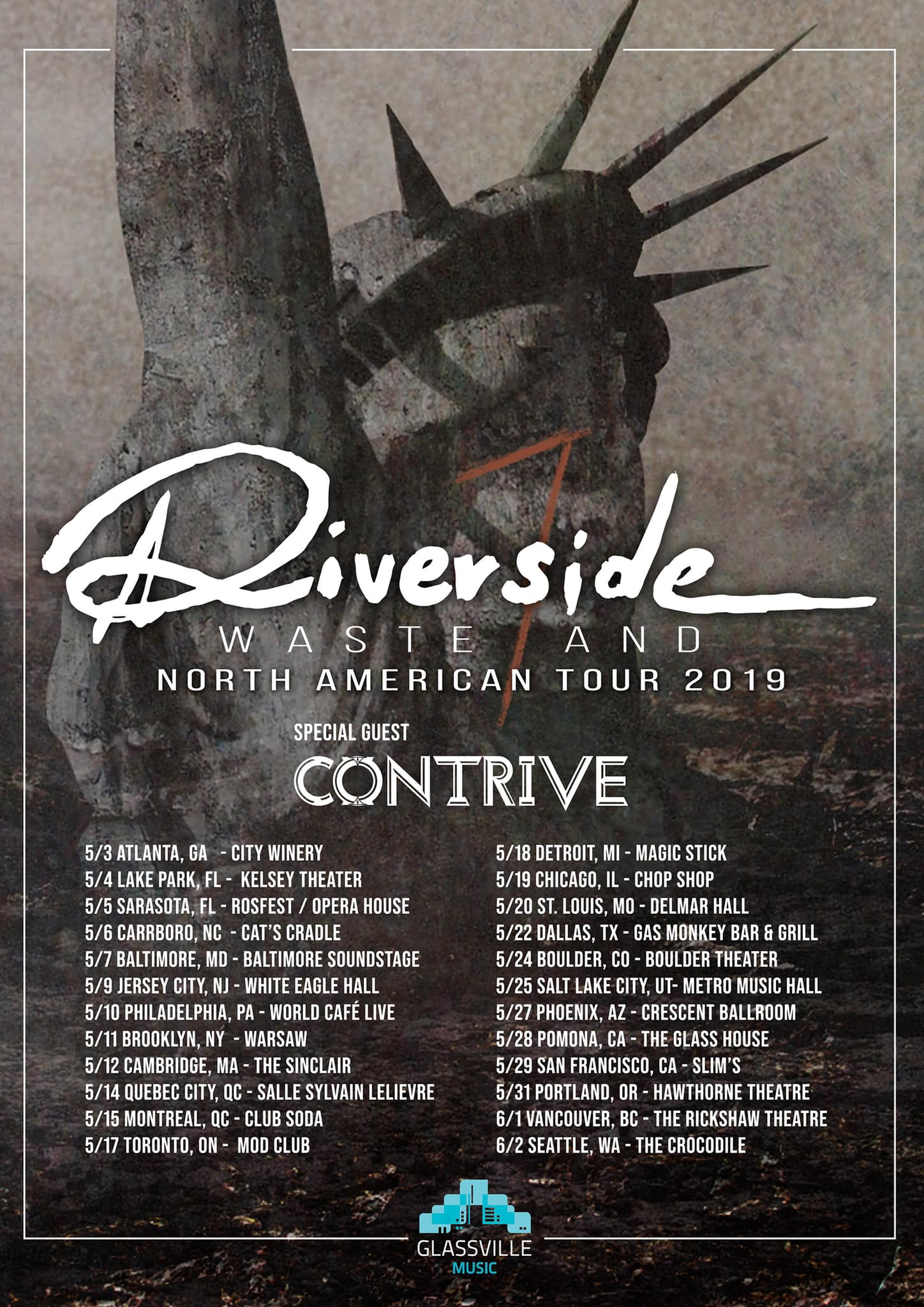Aaaaaand... here we go again: Wasteland North American Tour 2019