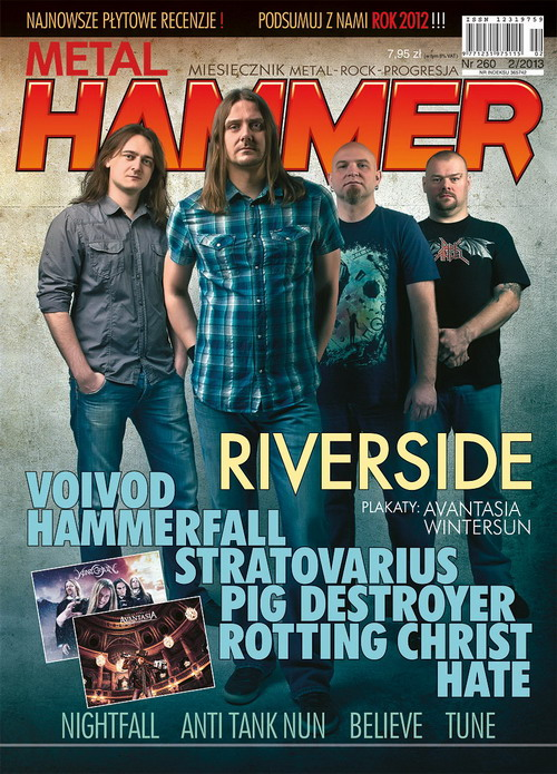 Riverside on the cover