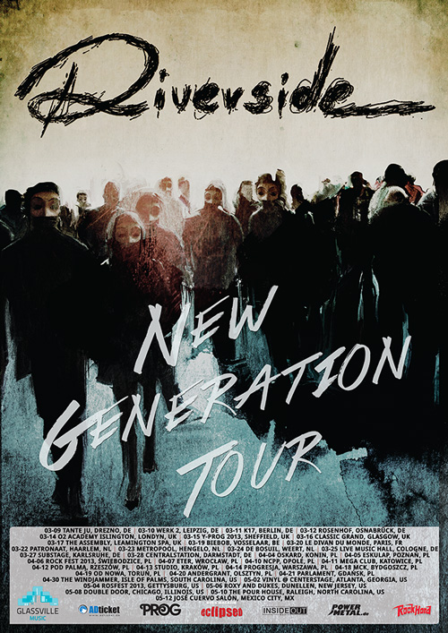 "RIVERSIDE – ""New Generation Tour"" starting this week! More live-shows! Launch lyric-video!"