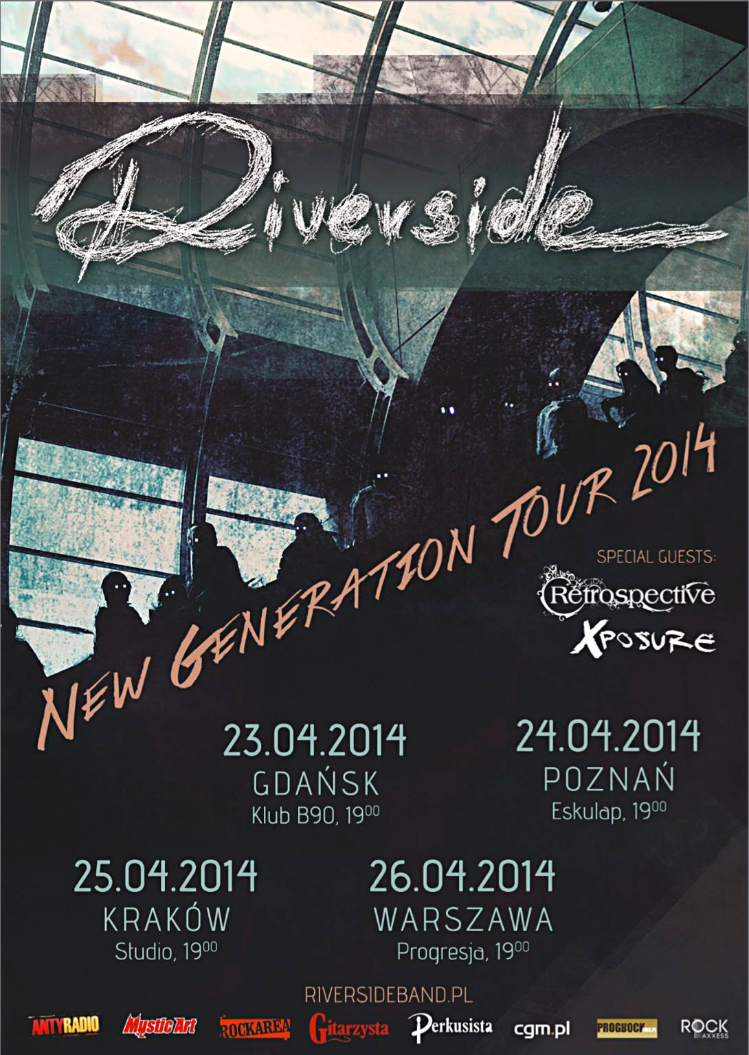 Riverside - New Generation Tour 2014